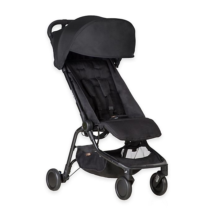 Alternate image 1 for Mountain Buggy® Nano Travel Stroller in Black