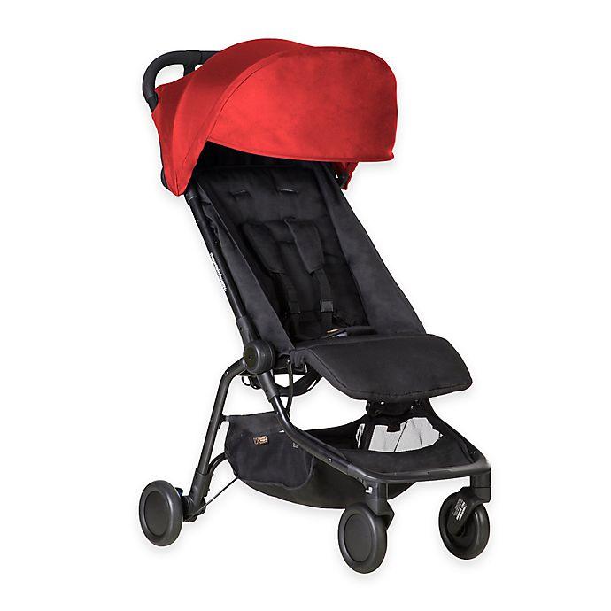 Alternate image 1 for Mountain Buggy® Nano Travel Stroller in Ruby