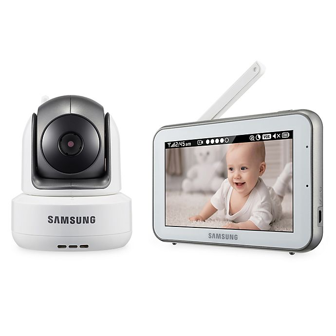 Alternate image 1 for Samsung BrightVIEW Digital HD Video Baby Camera and Monitor with 5-Inch Color Touch Screen