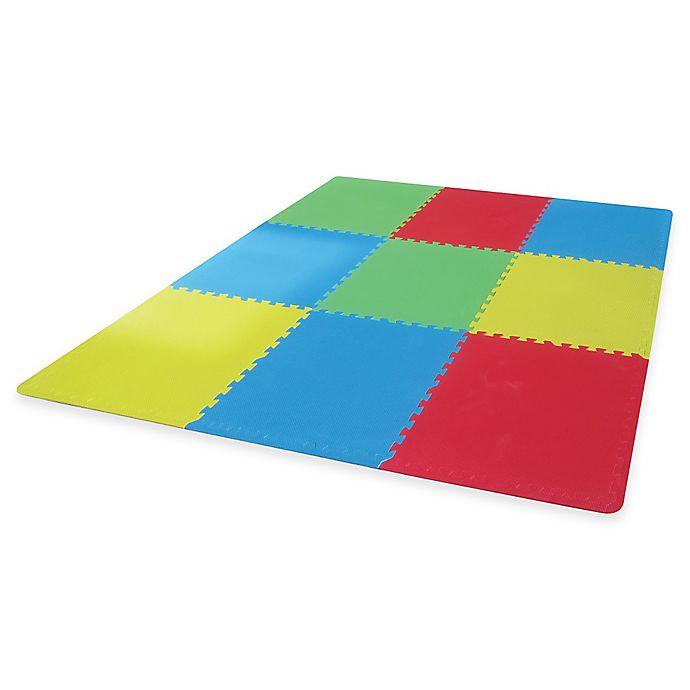 Alternate image 1 for Verdes Jumbo 9-Piece Foam Play Mat