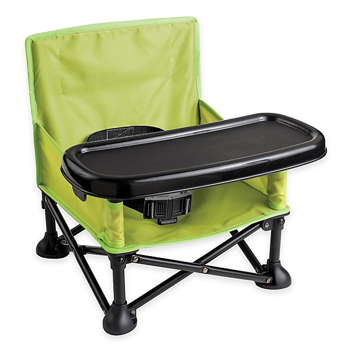 Alternate image 1 for Summer Infant® Pop 'n Sit Portable Booster Seat in Green/Grey