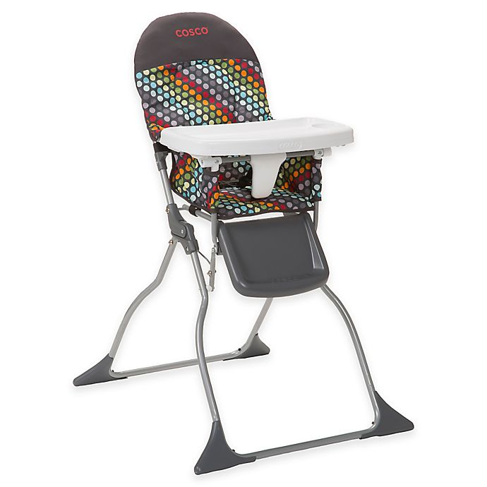 Alternate image 1 for Cosco® Simple Fold™ High Chair in Rainbow Dots