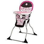 Disney® Simple Fold™ Minnie High Chair in Garden Delight