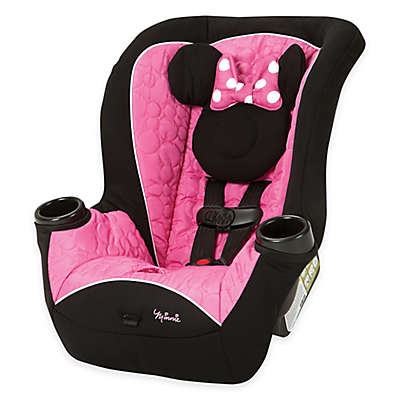 Disney® APT 40 RF Mouseketeer Minnie Convertible Car Seat in Pink/Black