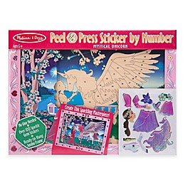 Melissa and Doug® Mystical Unicorn Peel & Press Sticker by Number