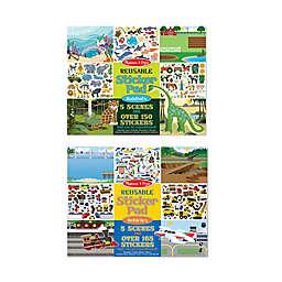Melissa & Doug® Vehicle/Habitat Sticker Pad Play Bundle (Set of 2)