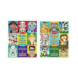 Melissa and Doug® Make-a-Face Sticker Bundle (Set of 2)
