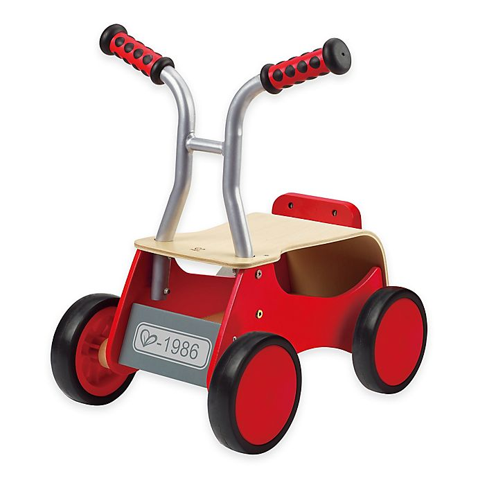 Alternate image 1 for Hape Little Red Rider Walker/Ride On Toy