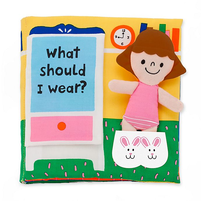 Alternate image 1 for Melissa & Doug® What Should I Wear? Soft Activity Book