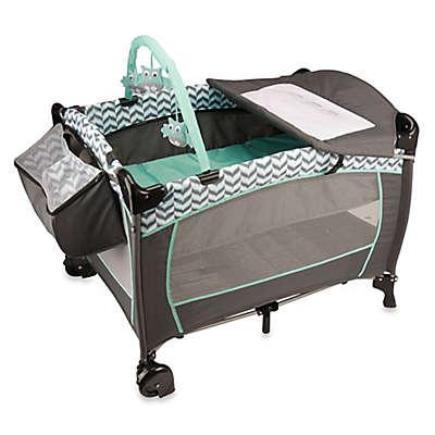 Evenflo® Portable BabySuite® Deluxe Playard in Spearmint Spree