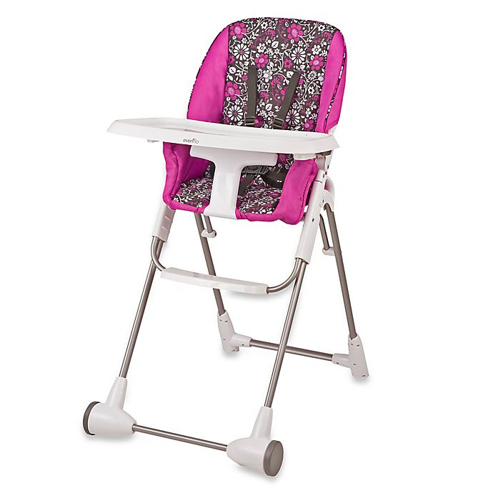 Alternate image 1 for Evenflo® Daphne Symmetry™ High Chair in Pink