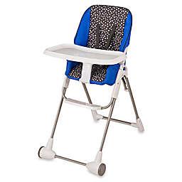 Evenflo® Symmetry™ Hayden Dot High Chair in Blue/Black