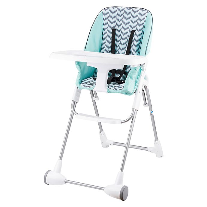 Alternate image 1 for Evenflo® Symmetry™ High Chair in Spearmint Spree