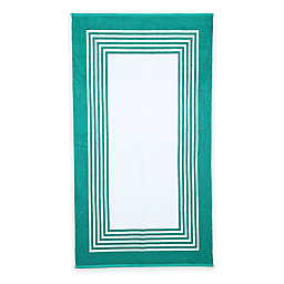 Resort Layered Frame Beach Towel