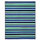 Side Stripe Beach Towel For 2