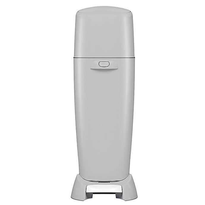 Alternate image 1 for Playtex Baby™ Diaper Genie® Complete Diaper Pail in Grey