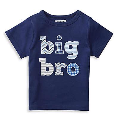 "Mud Pie® ""Big Bro"" Patchwork Shirt in Navy"