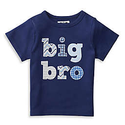 "Mud Pie® ""Big Bro"" Patchwork Shirt in Navy"
