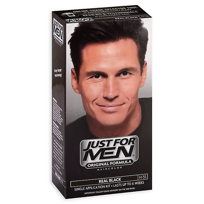 Just For Men Shampoo Hair Color In Real Black 55