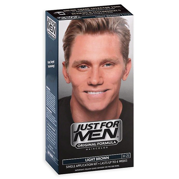 Alternate image 1 for Just For Men® Shampoo Hair Color in Light Brown 25