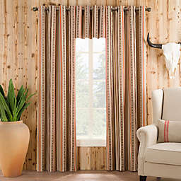 Wyoming Window Curtain Panel and Valance
