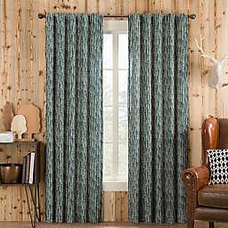 Boulder Rod Pocket/Back Tab Window Curtain Panel (Single)