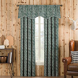 Boulder Window Curtain Panel and Valance