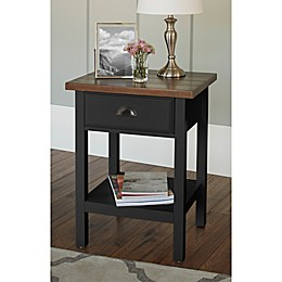Chatham House Newport Accent Table with Drawer