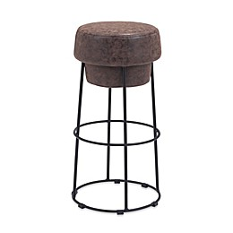 Zuo® Pop Bar Stool in Natural