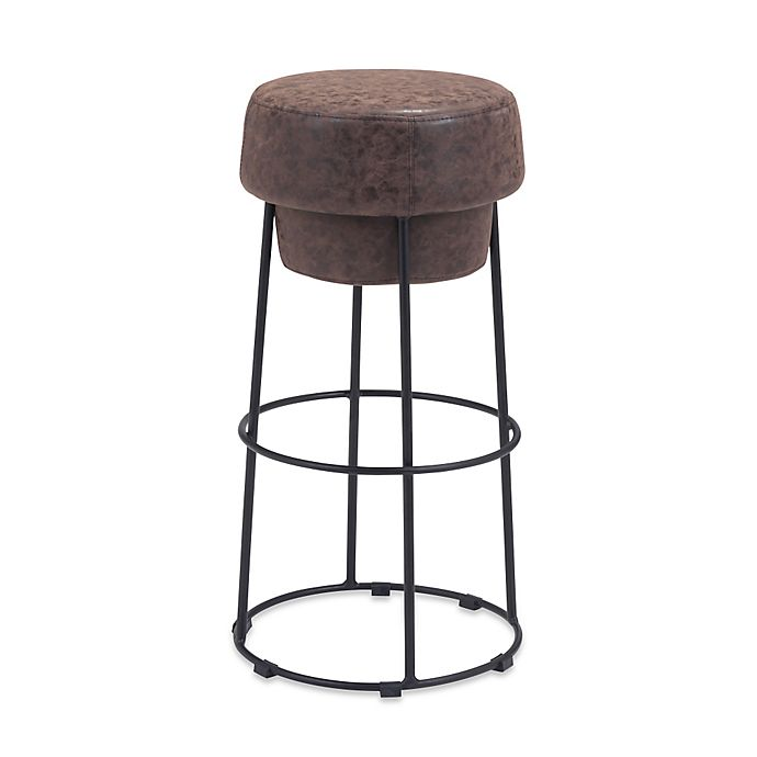 Alternate image 1 for Zuo® Pop Bar Stool in Natural