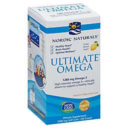 Nordic Naturals® 60-Count Ultimate Omega Soft Gel Supplement