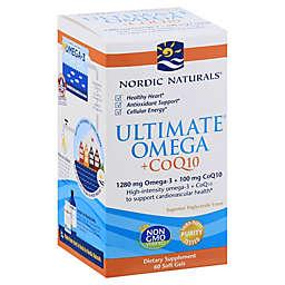 Nordic Naturals® 60-Count Ultimate Omega CoQ10 Soft Gel Supplement