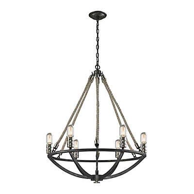 Elk Lighting Natural Rope Light Fixtures