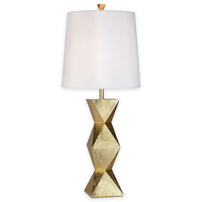 Pacific Coast® Lighting Ripley Table  Lamp with Tapered Drum Shade in Gold