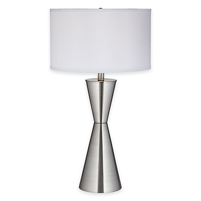 Pacific Coast Lighting Troubadour Table Lamp With Linen Shade Bed