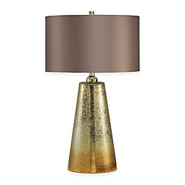 INK+IVY Lincoln Glass Table Lamp in Gold/Silver