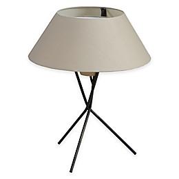 INK+IVY Trio Table Lamp in Black