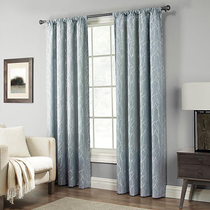 Alternate image 1 for Pinehurst Rod Pocket Window Curtain Panel