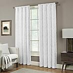 Pinehurst 95-Inch Rod Pocket Window Curtain Panel in White