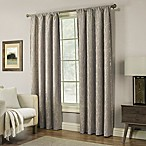Pinehurst 84-Inch Rod Pocket Window Curtain Panel in Mocha