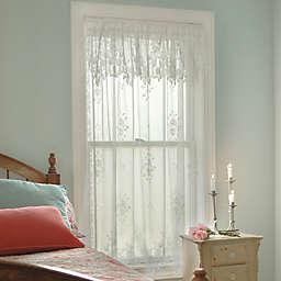 Heritage Lace® Tea Rose Rod Pocket Window Curtain Panel