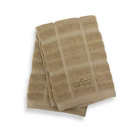 All-Clad Solid Dish Cloths in Cappuccino (Set of 2)