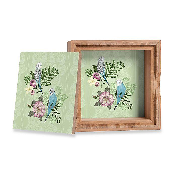 Alternate image 1 for DENY Designs Pimlada Phuapradit Parakeets Small Jewelry Box