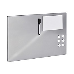 STEELMASTER® Soho Collection™ Flat Magnetic Board in Silver