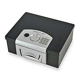 Steelmaster 22104 Digital Lock Electronic Security Box in Black