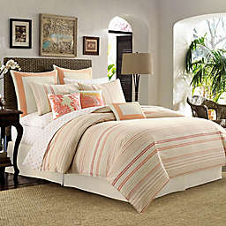 Tommy Bahama® La Scala Breezer Duvet Cover in Papaya