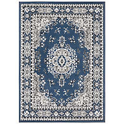 Home Dynamix Premium Sakarya 2' x 3' Accent Rug in Blue/Ivory
