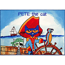 Home Dynamix Pete The Cat Elementary Pirate Pete Area Rug