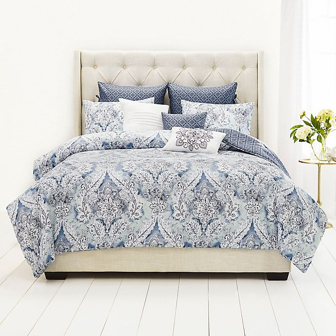 Alternate image 1 for Nicole Miller Collette 9-Piece Comforter Set