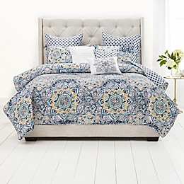 Nicole Miller Flower Field 9-Piece Quilt Set